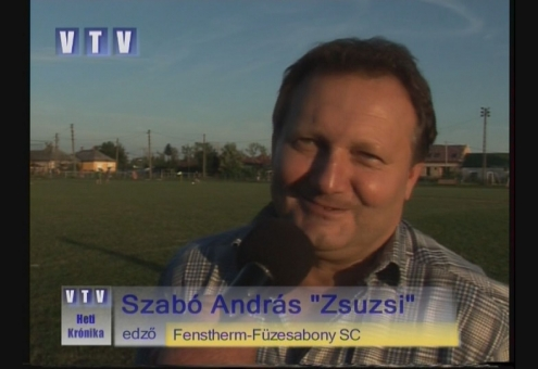 25 éves a Városi Televízió - Új edző, új szponzor a focicsapatnál 2006