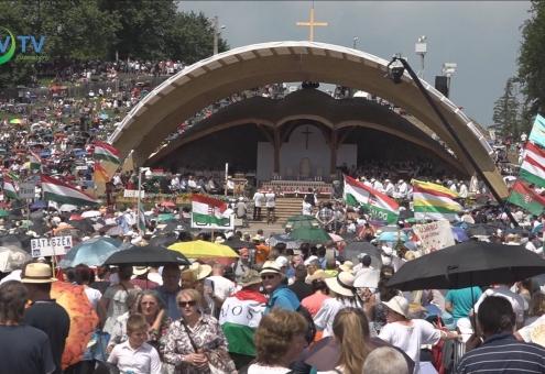 Pünkösdi látogatás Zabolára