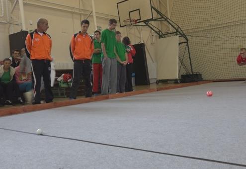 Regionális bocsa torna a sportcsarnokban