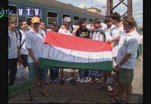 25 éves a Városi Televízió - Az ifi kézilabda csapat nemzetközi sikere 2008