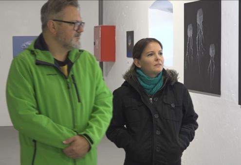 Képzőművészeti kiállítás a Tár-Házban