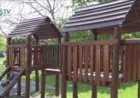 Kerítés és udvari játék felújítás a Pöttömke Óvodában