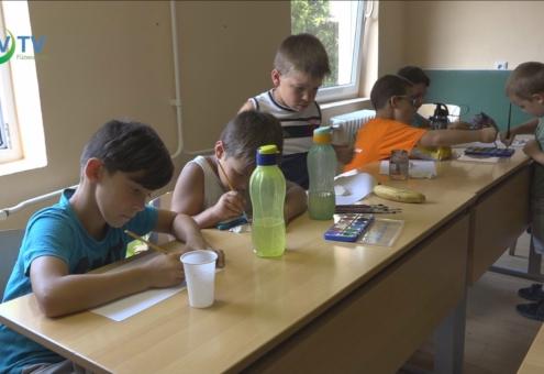 Napközis tábort szervezett a Szociális Központ