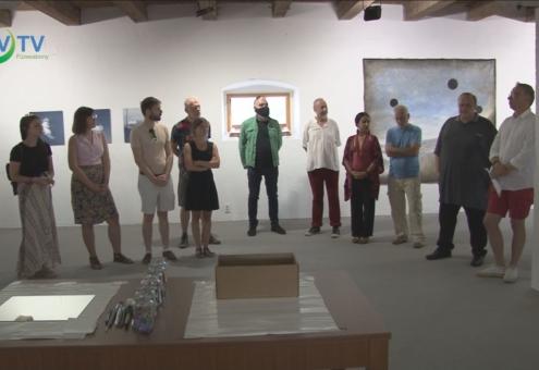 Kiállítással zárult a művésztelep Szihalmon