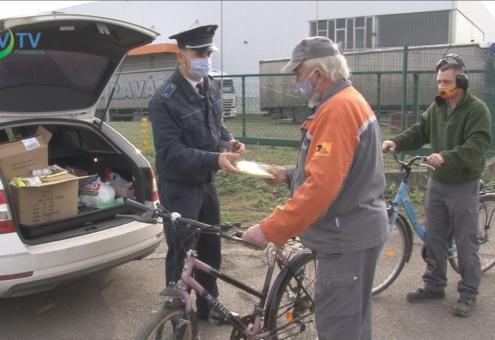 Rendőrségi kampány a biztonságos közlekedésért