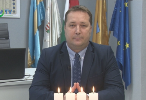 Nagy Csaba polgármester karácsonyi és újévi üzenete