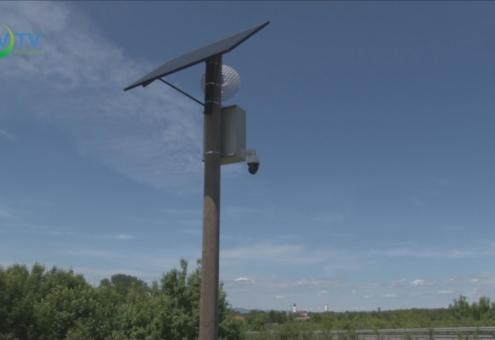 Már működnek a térfigyelő kamerák a város határában