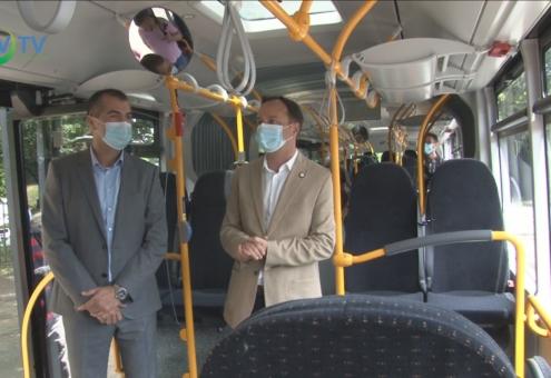 Új buszok álltak munkába a megyében