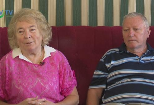 50 éve mondta ki a boldogító igent az Atkári házaspár